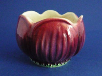 Hand Painted Art Deco Shorter & Son 'Anemone' Sugar Bowl c1939